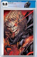 VENOM #27 CGC 9.8 JONBOY UNMASKED VARIANT NM DONNY CATES SPIDERMAN CARNAGE KNULL