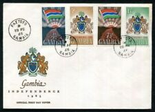 Gambian Cover African Stamps