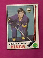 1969-70 OPC # 143 KINGS JIMMY PETERS ROOKIE EX CARD (INV#4002)