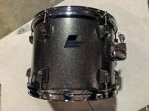 Ludwig Backbeat 12 X 9 Tom Metallic Silver Sparkle