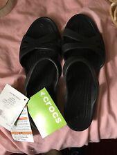 Crocs Women's Kelli Sandal Black Size 6