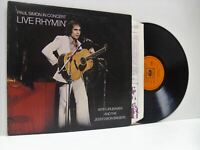 PAUL SIMON live rhymin' (1st uk press) LP EX-/VG, CBS 69059, vinyl, album, 1974