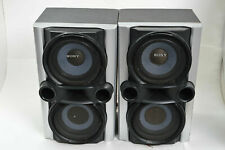 (2) Sony Bookshelf Speakers Model SS-EC77