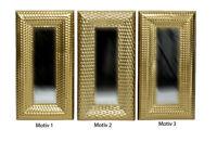Wandspiegel Spiegel Gold ca. 80 x 40 cm Antik-Stil barock  Nuance. 3 Ver.Motive