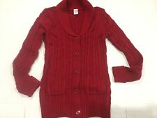 NEW Gymboree HOLIDAY Red CARDIGAN Sweater Women Mom Size 4-6 56.95 WOMEN'S