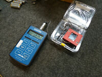 Interface 9320-1 TEDS Transducer Digital INDICATOR & Broxton BGA Force Fixture