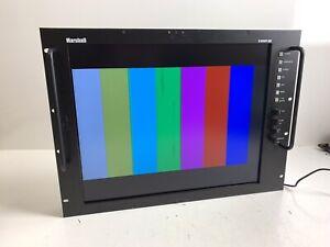 """Marshall Electronics V-R191P-SDI 19"""" LCD Rack Mountable Panel with SDI Input"""