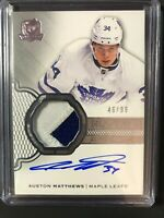 2016-17 The Cup Auston Matthews Rookie Auto Patch  46/99