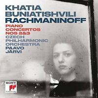 Khatia Buniatishvili - Rachmaninoff: Piano Concerto 2 and Piano Concerto 3 [CD]