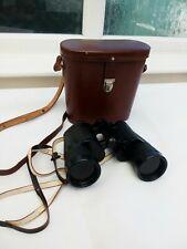 Vintage Carl Zeiss Jena Dekarem 10x50 Binoculars 3857858 + original Case & Strap