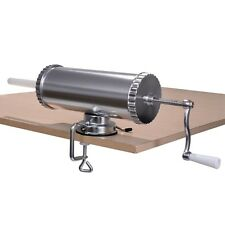 3l Manual Sausage Stuffer Maker Meat Filler Machine W/ Suction Base Commercial