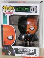 FUNKO POP TV DC ARROW TV SERIES DEATHSTROKE #210 Vinyl  Figure IN STOCK NOW