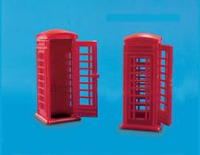Modelscene 5006 Telephone Kiosks OO Gauge