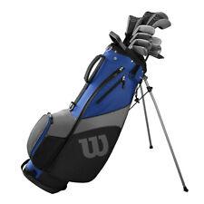 Wilson 1200 TPX Golfset Komplettset, Herren RH, Stahl & Graphit, Standardlänge