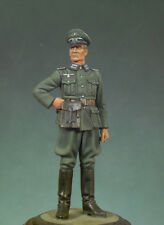 ANDREA MINIATURES S5-F03 - GERMAN OFFICER - 54mm WHITE METAL