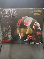 Star Wars C1441 The Black Series Poe Dameron Electronic X-Wing Helmet