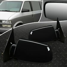 FOR 88-05 CHEVY ASTRO GMC SAFARI PAIR OE STYLE MANUAL SIDE REAR VIEW DOOR MIRROR