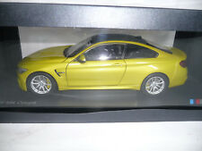 BMW M4 F82 COUPE AUSTIN YELLOW METALLIC 1:18 PARAGON DEALER VERY RARE