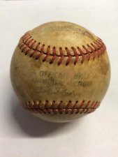 Montreal Expos & Cincinnati Reds 1982 Game Used Ball - Carter, Dawson, Raines