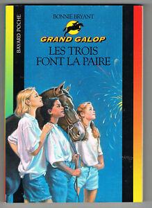 Grand Galop 1, Les trois font la paire, Bonnie Bryant, Bayard Poche 601 2001
