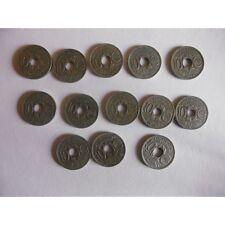 Lot de 13 pieces(avec les rares) de 10 centimes 1917 à 1929-LINDAUER