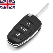 New 3 Button Remote Replacement Key Fob Case & Blade for AUDI A3 A4 A6 Q7 TT