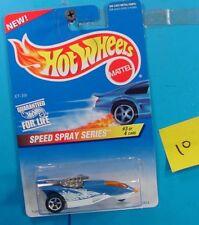 C9 HOT WHEELS SPEED SPRAY SERIES XT-3 WINTER RACER #551 BLUE/WHITE NEW ON CARD