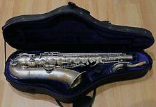 Conn New Wonder II 1926 tenor saxophone, silver plate, recently refurbished