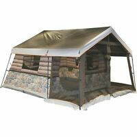 Timber Ridge 8-Man Outdoor Camping Hunting Fishing Waterproof Log Cabin Tent