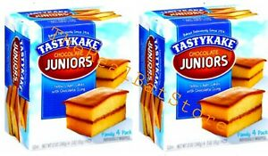 2 Tastykake Chocolate Juniors four Count