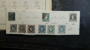 Spain stamp collection on Scott Int'l pages + glassines, etc. w/est #260 or so