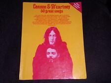 "Vintage Sheet Music "" Lennon & Mc McCartney 50 Great Songs(Easy Big Not Guitar)"