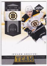 11-12 Limited Tyler Seguin /49 Team Trade Marks SILVER Bruins 2011