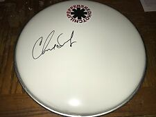 Chad Smith Red Hot Chili Peppers RHCP Hand Signed Drumhead w/COA