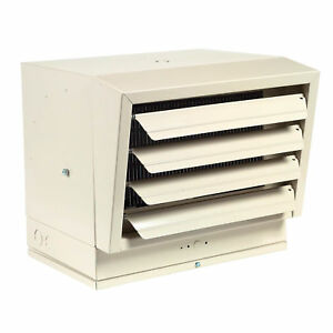 Electric Heater - 480 Volts - 34,100 BTU - 500 CFM - 1 to 3 Phase - Dual Phase