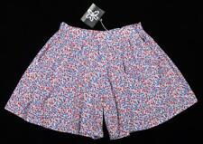 Matilda Jane Tween Girls Lagoon Mini Floral Shorts Skorts Skirt ~ Size 12 NWT kg
