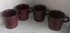 4 FIESTA Homer Laughlin HEATHER Coffee Mugs Cups 8 oz