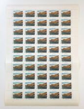Persia 1992 I.R. Sc# 2534 World Tourism Day, Isfahan - Sheet of 50 Stamps - Mnh