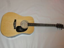 WALKER HAYES SIGNED NATURAL ACOUSTIC GUITAR YOU BROKE UP WITH ME COUNTRY STAR
