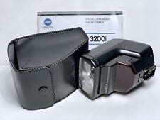 Flash MINOLTA PROGRAM AF 3200i (Sony Alpha in manual mode) FLASHGUN Unit + CASE