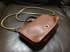 No Reserve Authentic Rare Vtg Coach Cross Body Hobo Shoulder Leather Bag