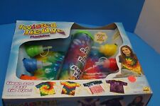NSI TWISTED TIE DYE MACHINE SET  CLEAN AND EASY MAKES 12 SHIRTS  5047