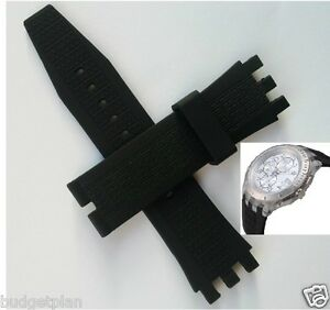 22mm Rubber silicon Band strap bracelet SVGK403 SVGK402 automatic Simply Pure
