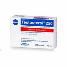 Megabol Testosterol 30 Cápsulas de 250mg Pack de 5 Unidades