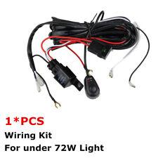 14V 40A LED Work Light Wiring Harness Kit ON/OFF Switch Relay 18W 27W 48W 36W