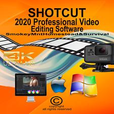 2020 Shotcut (Professional Video Editor Software Suite) Windows/Mac CD