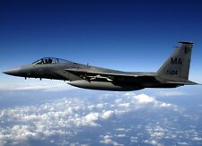 New 8x11 Photo: United States Air Force F-15 C Eagle Fighter Jet