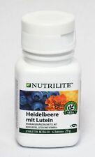 Amway Heidelbeere mit Lutein NUTRILITE Für müde überangestrengte Augen