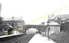 Orrell Park Railway Station Photo. Liverpool - Aintree. Maghull Line. L&YR. (1)