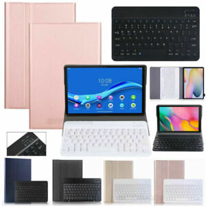 """Smart Leather Case Bluetooth Keyboard For Samsung Tab A7 Lite 8.4"""" SM-T220 T225"""